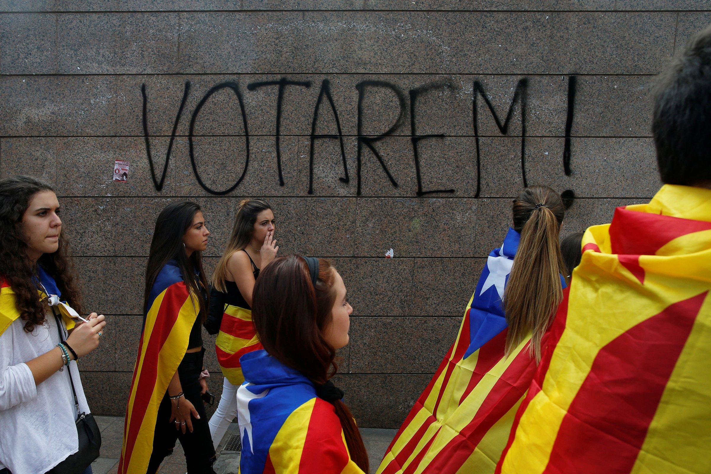 Голосуем! Лозунг сторонников референдума